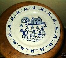 """METLOX PROVINCIAL BLUE 10"""" DINNER PLATE(S)"""