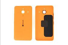 Genuine Microsoft Lumia 640 XL ARANCIO BRILLANTE BATTERIA COPERCHIO - 02510p9