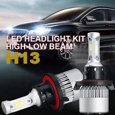 HI/LO Beam LED Headlight Bulbs Conversion Kit  H13 9008 6000K 1100W 165000LM 2x
