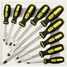 9PCS PRECISION MAGNETIC INSULATED SCREWDRIVER TOOL SET SOFT GRIP HANDLES TOOLS