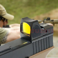 Mini Holographic Reflex Micro Tactical Red Dot Sight Scopes Hunting Rifle&Pistol