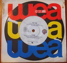 """7"""" Single - ZZ Top, Legs - 1983 Warner 7-29272"""