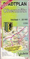 Stadtplan Chemnitz, 1:20.000, Dr. Bartel Verlag, Wanderkarte