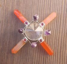 CARNELIAN AND AMETHYST ANTENNA ENVIRONMENT GENERATOR WITH GARNET ACCENTS