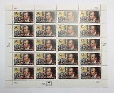Mint OG USPS Stamp Sheet 1996 .32 Raoul Wallenberg Humanitarian! Scott 3135