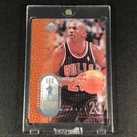 MICHAEL JORDAN 1999 UPPER DECK LEGENDS #1 EMBOSSED FOIL SAMPLE PROMO CARD BULLS