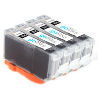 4 Photo Black Ink Cartridges for HP Photosmart 7520 C5390 D5468 C309g C309a