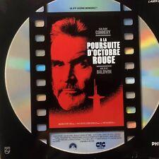 LASERDISC - A LA POURSUITE D'OCTOBRE ROUGE - VF - Sean Connery 1ère Édition