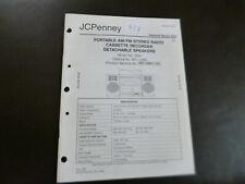 Original Service Manual Schaltplan JCPenny  Model No. 3901