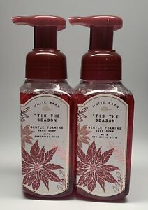 Bath & Body Works Tis The Season Gentle Foaming Hand Soap-2 Pack AUTHENTIC