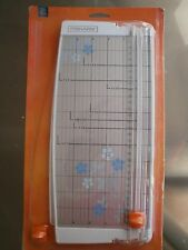 Fiskars Paper Trimmer with Extension Arm, Ruler, Cutter, Triple Track, 12""