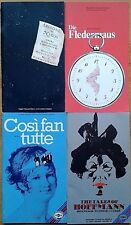 Individual English National Opera (ENO) programmes 1980-1984, programme group 2