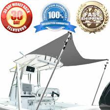 4-Bow & 3-Bow Bimini, T-Top Boat Extension Kit, Canopy Canvas, 5.5' L x 5.5' W