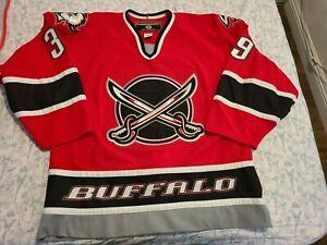 Koho Authentic Buffalo Sabres Jersey Dominik Hasek Jersey 52 Vintage 90s Swords