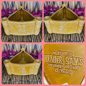 Trader Sam's Enchanted Tiki Bar Uh Oa Drummer Bowl 1st Edition Disneyland Mug