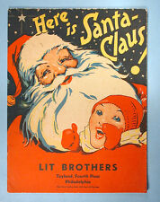1930s-1940s Toyland Christmas Storybook Dept. Store Giveaway Lit Brothers PA