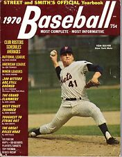 1970 Street & Smith's Baseball magazine, Tom Seaver, New York Mets FAIR