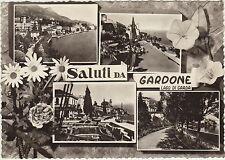 SALUTI DA GARDONE - LAGO DI GARDA - VEDUTINE (BRESCIA) 1960