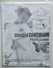 Studio Tantrum Sewing Pattern-Hermosa Wave Shirt for Toddler and Child