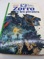 zorro et les pirates , johnston McCulley , bibliothèque verte  (cboi09)