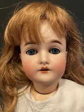 "Antique 24"" Bisque Head Armand Marseille Queen Louise Doll - BJ Composition Body"