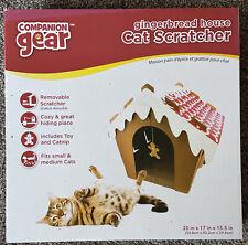 New Companion Gear Gingerbread House Cat Scratcher