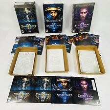 Starcraft 2 Lot of 3: Wings Liberty Heart Swarm Legacy Void Expansion WindowsMac