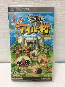 Sony PSP Monster Hunter Diary Poka Poka Airou Village capcom