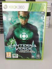 LANTERNA VERDE XBOX 360 PAL ITALIANO DISCO COME NUOVO COMPLETO RARO,
