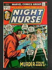 Night Nurse  #3 Rare (1972) Linda Carter  Gorgeous High Grade 9.0!  OW/W pgs!