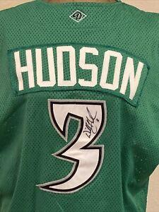 SIGNED WILL HUDSON #3 DAYTON DRAGONS PLAYER WORN BASEBALL JERSEY OHIO