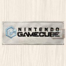 Nintendo Gamecube Logo Embroidered Patch Vintage Console Retro Mario Bros SNES