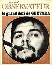 """Le Nouvel Observateur. N°151, Octobre 1967 """"Le grand défi de Guevara"""""""