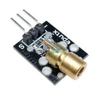 5PCS Laser Sensor Module 650nm 6mm Red Laser Dot Diode Copper Head For Arduino
