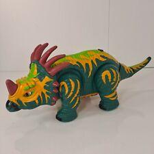 Imaginext Triceratops Styracosaurus Dinosaur Mattel 2006 Works Walking Roaring