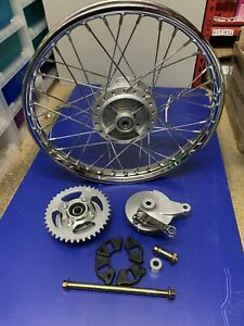 "17"" Rear Wheel Honda C50 C70 C90 Style Rim 1.40 x 17 SPROCKET"