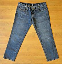 ABBEY DAWN Avril Lavigne {Size 7} Junior's Low Straight Leg Jeans EXCELLENT!