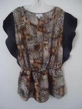 Animal Print Taking Shape Tops for Women
