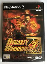 PS2 Dyntasty Warriors 3 (2002), UK Pal, Brand New & Sony Factory Sealed