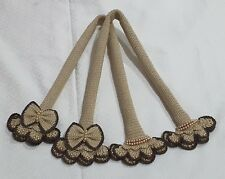 "Handle Cover Crochet Louis Vuitton LV Tivoli GM Beige Handmade Thai 19""."