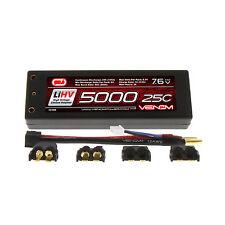 Venom 15185 Lipo 7.4V LIHV7.6V 25C 5000MAH High Voltage Lithium Polymer Battery