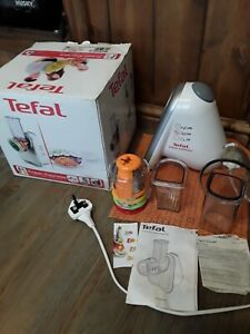Tefal Fresh Express Food Grater Slicing Machine with 4 Attatchment Blades --1200