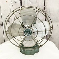 Vintage Zero Green Tabletop Fan Model 1250R - Display Only