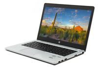 HP Elitebook Folio 9480M  Laptop 256GB SSD 16GB Ram 128GB SSD Webcam Win 10