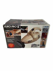 Euro-ProX Ultra Shark Handheld Corded Vacuum Kit w/Hoses, Attachments Manual