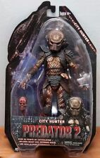"City Hunter Predator Series 7  Scale Action Figure 7"" New In Package"