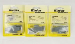 "(Lot of 2) Prime-Line Cam Action Window Sash Lock 3/8"" Latch New Gray"