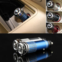 Auto Car Fresh Air Freshener Ionic Purifier Oxygen Bar Ozone Ionizer Cleaner