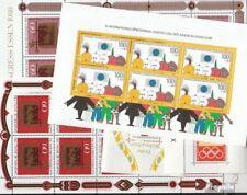 RFA (FR.Allemagne) 5 différents blocs neuf avec gomme originale et Feuille minia