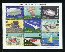Mongolia Scott #2500 MNH SHEET of 9 Modern Transportation CV$9+